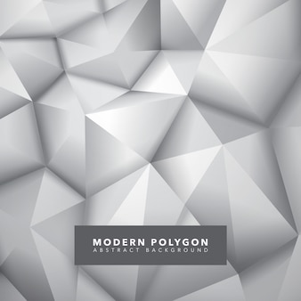 Light polygon abstract background