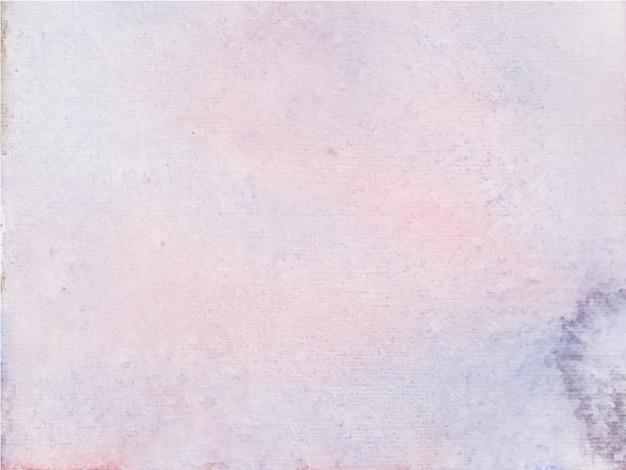 밝은 보라색 추상 수채화 배경, 핸드 페인트. 종이에 튀는 색상
