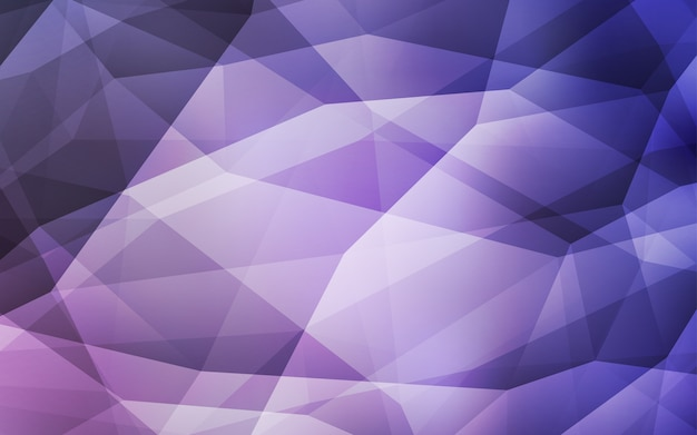 Light purple vector abstract polygonal background.