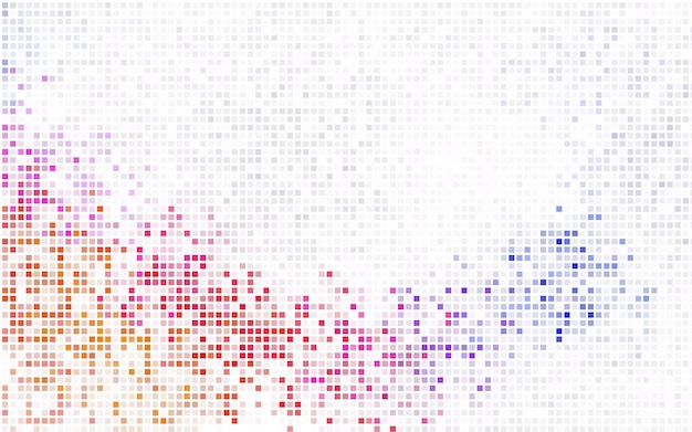 Light purple vector background of rectangles and squares