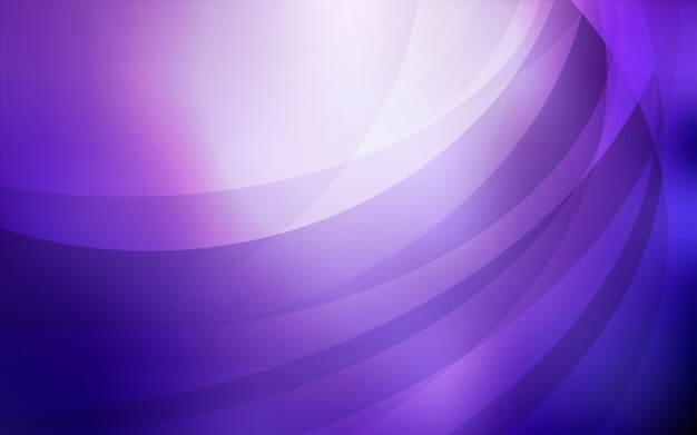 Light purple vector pattern with bubble shapes