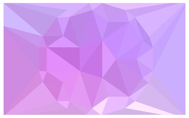 ライトパープルベクトル多角形イラスト