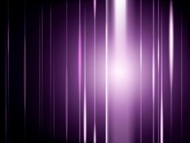 Световые лучи фиолетовый фон, светящийся специальный эффект для использования в иллюстрации