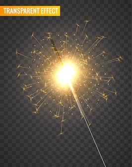 Light sparkler decoration. holiday sparkler firework background isolated bengal bright light