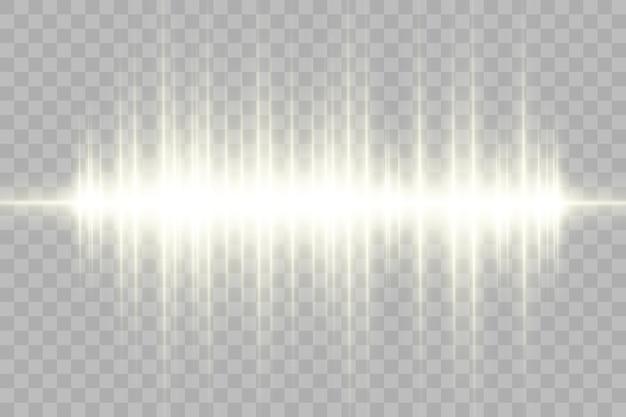 Световой спецэффект. светящиеся полосы.