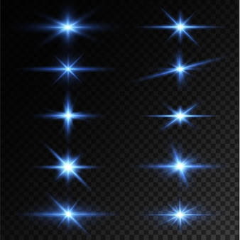 ライトスターブルーpngライトサンブルーpngライトフラッシュブルーpngベクターイラストレーター