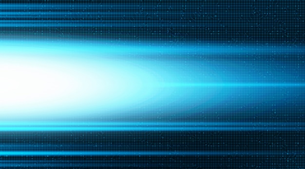 Light super speed technology background