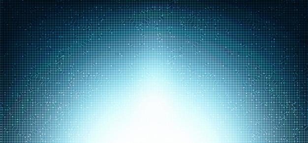 Light technology future background