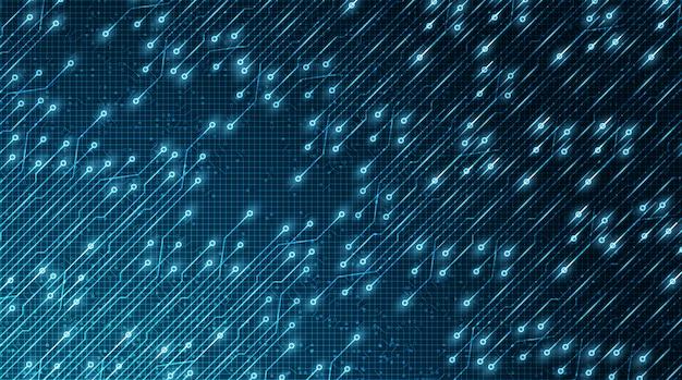 Light technology microchip future background