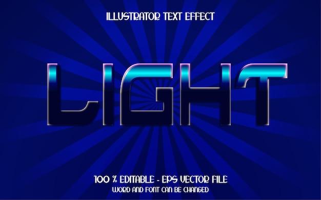 Эффект светового текста