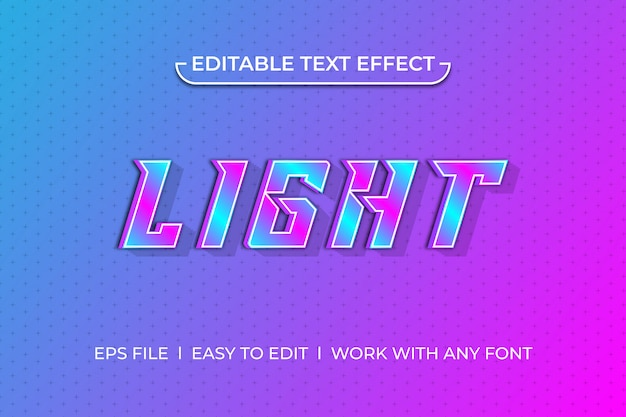 Легкий текстовый эффект
