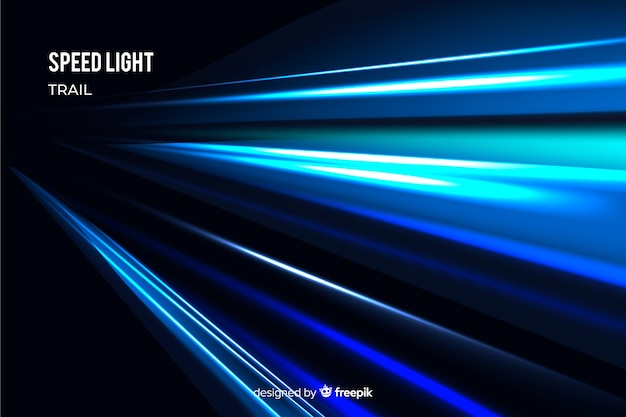 Light trail background