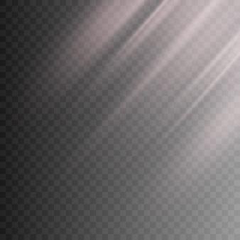Light transparent effect