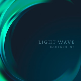 Light wave border background
