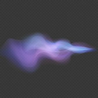 Световая волна неоновый вихревой эффект наложения вспышки