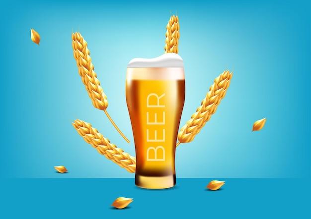 Light wheat beer