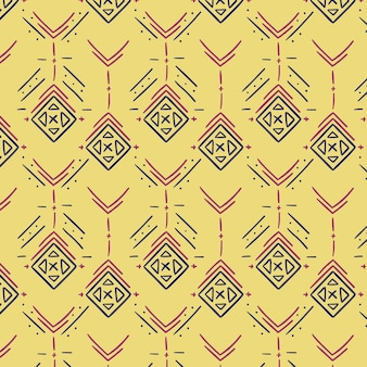 Light yellow traditional songket pattern