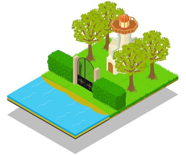 Lighthouse concept scene