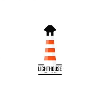 Lighthouse logo template