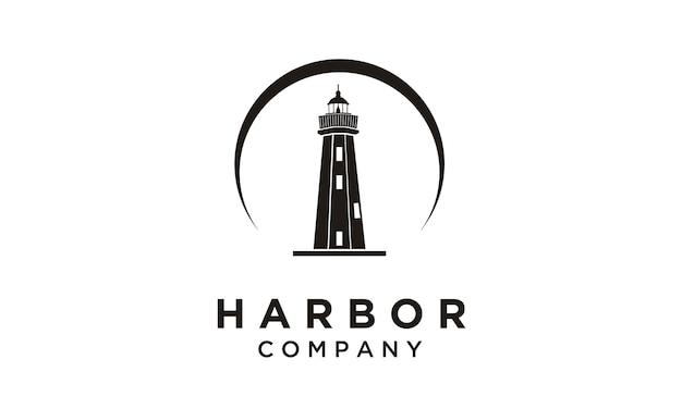 Lighthouse / searchlight logo design