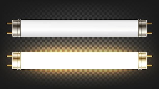 Lighting electrical energy fluorescent lamp