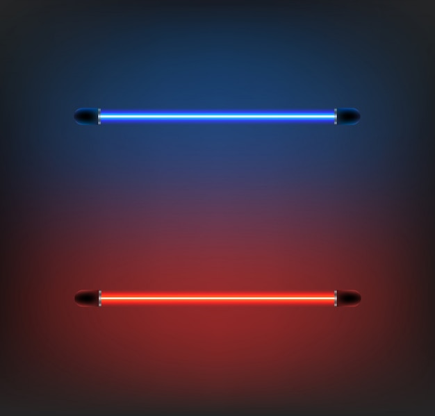 Lighting neon vector