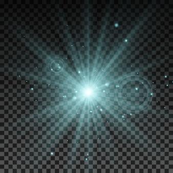 Освещение искры векторные иллюстрации