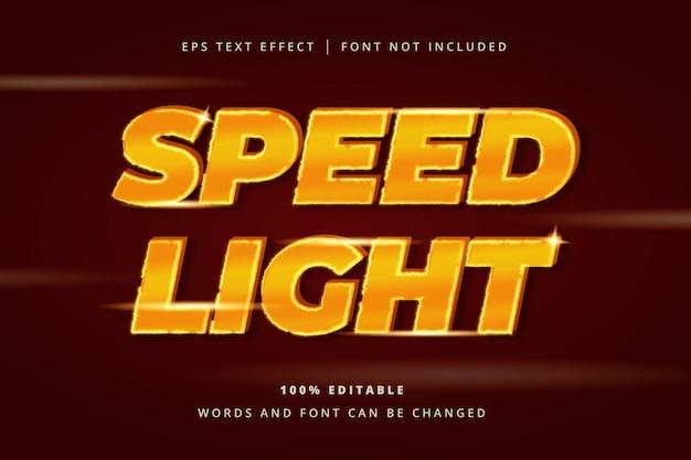 Lightning editable text effect