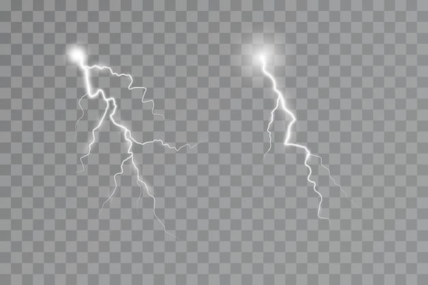 Lightning effect thunderstorm light effect electricity