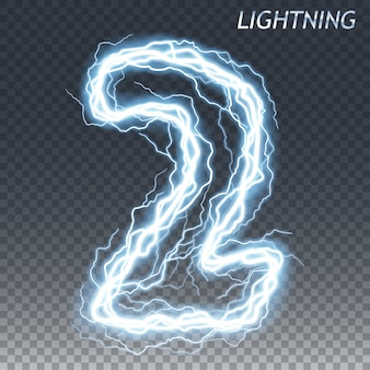 Lightning and electric number
