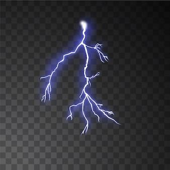 Lightning stom in phantom blue color