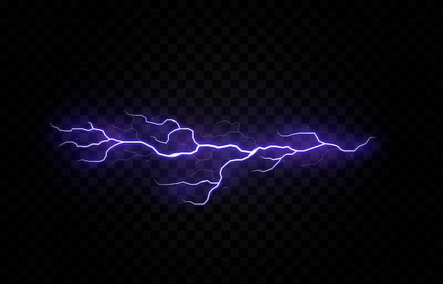稲妻雷雨電気ベクトルボルトpng雷雨光効果スカイフラッシュグラフィック分離された現実的な背景電気セットエネルギー嵐ストライク雷ボルトtranspa