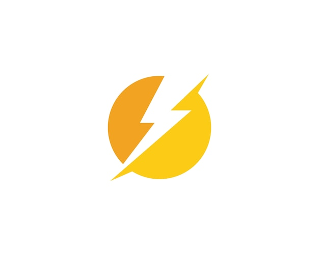 Lightning thunderbolt logo