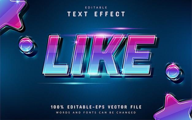 Как текстовый эффект с градиентом