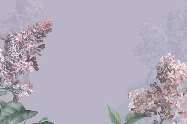 Bordo lilla su sfondo viola