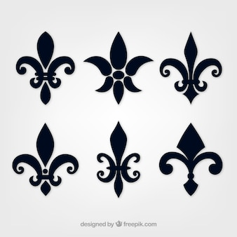 Medieval vectors photos and psd files free download lily flower silhouette stopboris Image collections