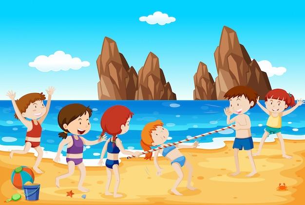 リムボーダンスオンザビーチ