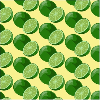 Lime pattern background