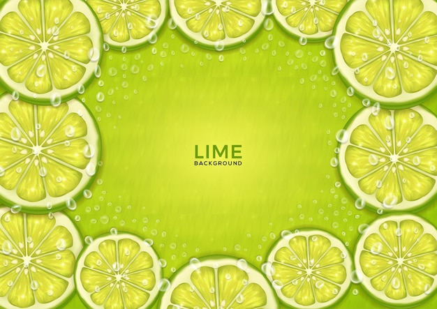 Lime theme background