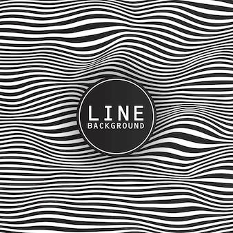 Linea di design di sfondo con tema scuro e logo