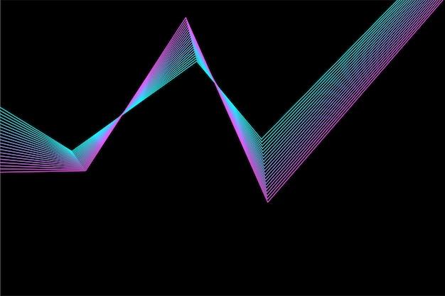 Line broken stripes futuristic pattern background. line artwork for design flyer, club party invitation, shop poster etc.