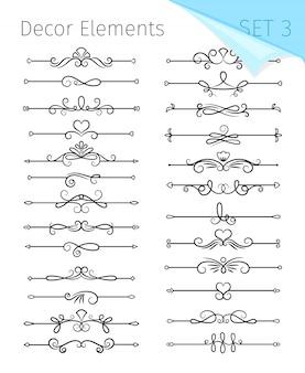 Line divider set