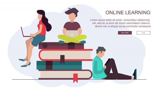 On line education