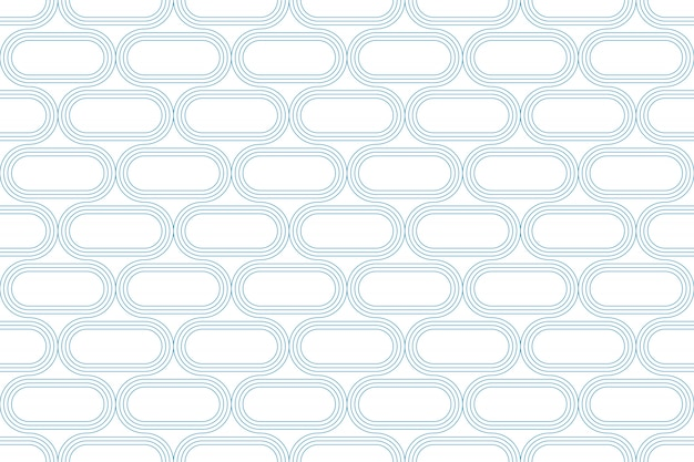 Line geometric abstract pattern seamless blue line on white background.