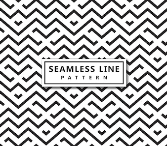 Line geometric pattern . Seamless vector background. Black texture.