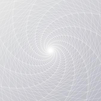Line radial spiral mesh
