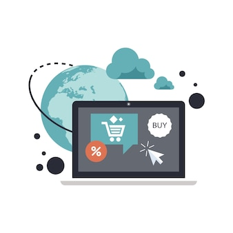 On line shopping and payment