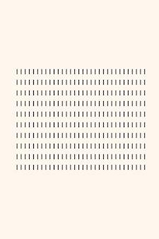 Line stripe ribbon boho minimalist shape icon.