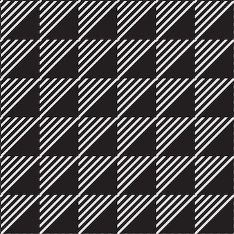 Line and triangle seamless geometric background pattern