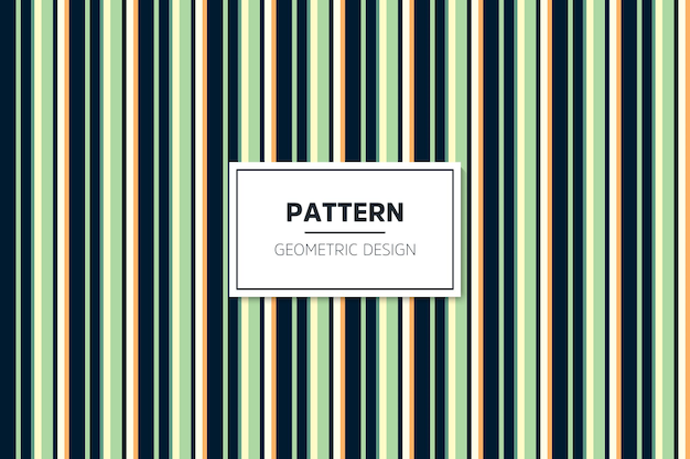 Lineal colorful geometric seamless pattern